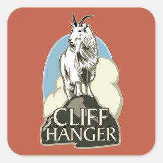 Mountain Goat Cliffhanger Sticker