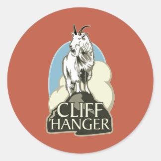 Mountain Goat Cliffhanger Stickers