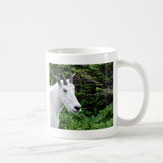 Mountain Goat Close Up Coffee Mug