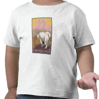 Mountain Goat - Glacier National Park, MT Shirt
