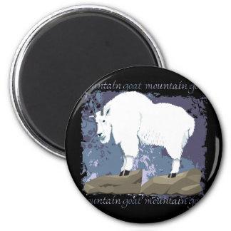 Mountain Goat Grunge Fridge Magnet