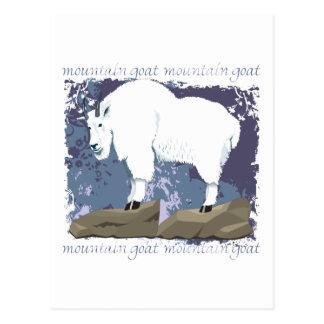 Mountain Goat Grunge Postcard