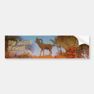 Mountain Goat - Hawaii Skateboard Sticker Car Bumper Sticker