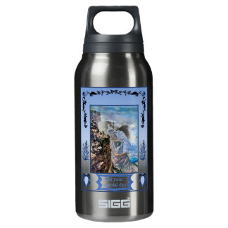 Mountain goat insulated water bottle
