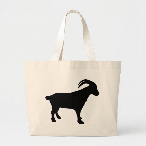 Mountain goat jumbo tote bag