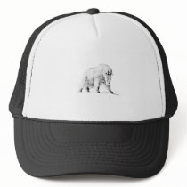 Mountain Goat Logo (line art) Trucker Hat