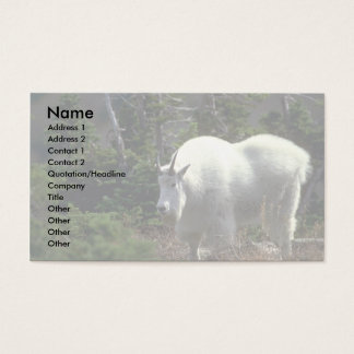 Mountain Goat-male Business Card