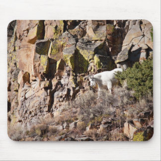Mountain Goat Mouse Pad