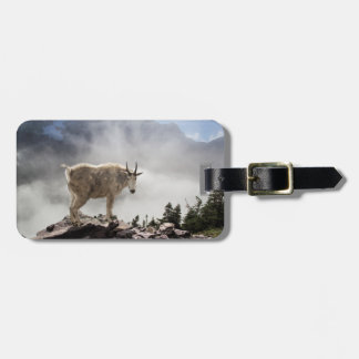 Mountain Goat on Gunsight Pass Bag Tag