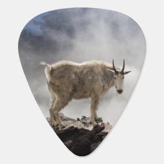 Mountain Goat on Gunsight Pass Guitar Pick