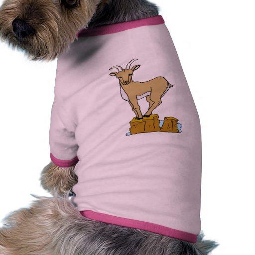 Mountain Goat Pet T Shirt