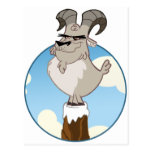 mountain goat postcard