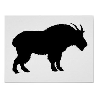mountain goat poster