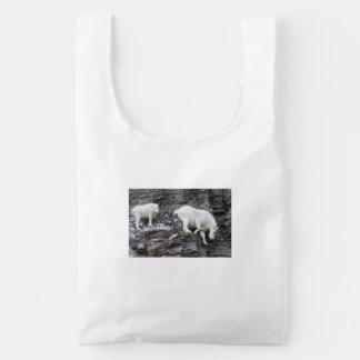 mountain goat reusable bag