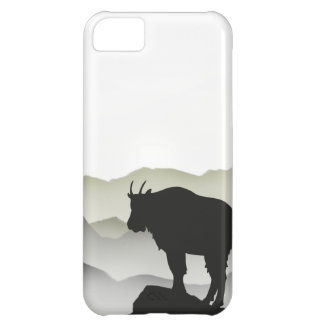 Mountain Goat Silhouette Case For iPhone 5C