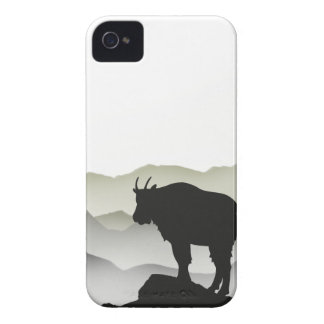 Mountain Goat Silhouette iPhone 4 Cover