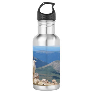 Mountain Goat Stainless Steel Water Bottle
