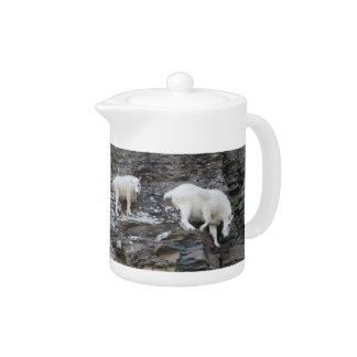 mountain goat teapot