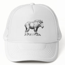 Mountain Goat Trucker Hat