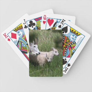 Mountain Goat Twins Bicycle Playing Cards