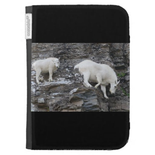 mountain goat with baby cases for the kindle