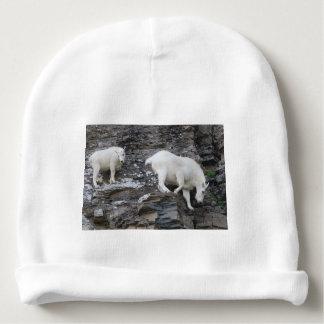 mountain goat baby beanie