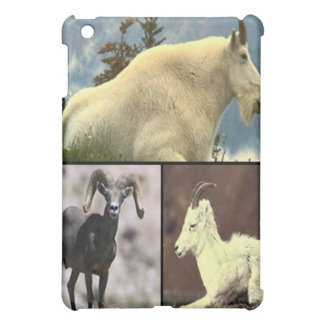 Mountain goats Collage print iPad Mini Cover