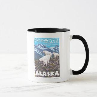 Mountain Goats Scene - Cordova, Alaska Mug