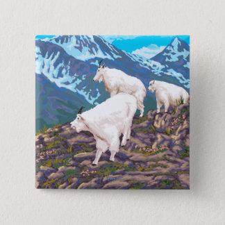 Mountain Goats Scene - Montana Button