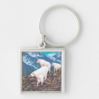 Mountain Goats Scene - Montana Key Chains