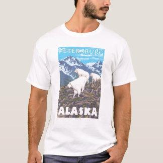 Mountain Goats Scene - Petersburg, Alaska T-Shirt