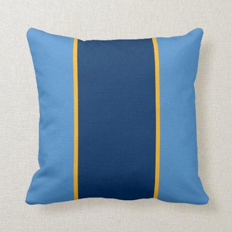 Mountain Gold Throw Pillow