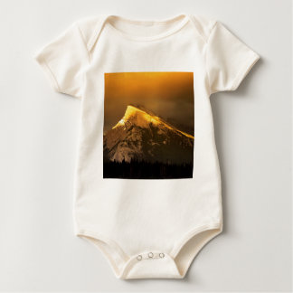 Mountain Golden Peaks Of Rundle Banff National Baby Creeper
