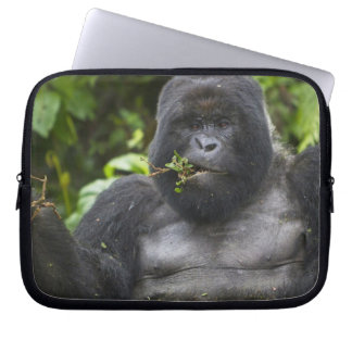 Mountain Gorilla and aging Silverback Laptop Sleeve
