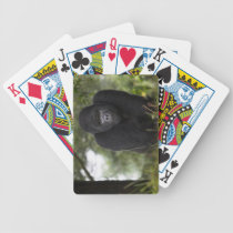 Mountain Gorilla and Silverback 3 Bicycle Playing Cards