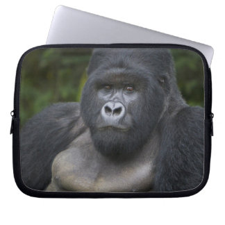 Mountain Gorilla and Silverback 4 Computer Sleeve