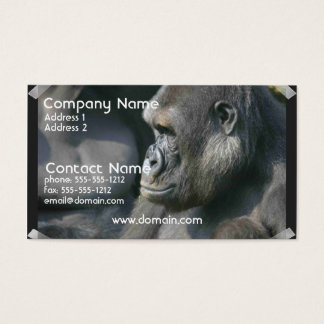 Mountain Gorilla Business Card