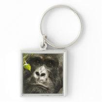 Mountain Gorilla, Gorilla beringei beringei, Keychain