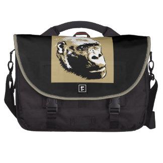 Mountain Gorilla Great ape - Wild Animal Lover bag Laptop Messenger Bag