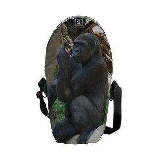Mountain Gorilla Courier Bag