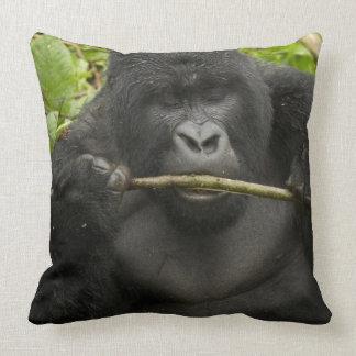 Mountain Gorilla, using tools Pillow