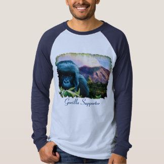 Mountain Gorilla & Volcanic Eruption Shirt