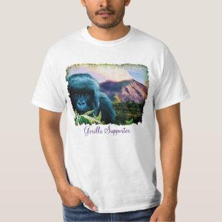 Mountain Gorilla & Volcanic Eruption T-Shirt