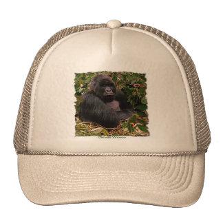 Mountain Gorilla Wildlife Art Trucker Hat