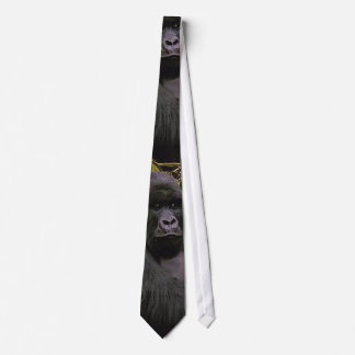 MOUNTAIN GORILLA WILDLIFE NECK TIE