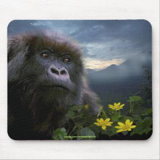 Mountain Gorilla Wildlife-supporter Mousepad