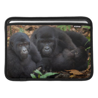 Mountain Gorillas, Volcanoes National Park MacBook Sleeve
