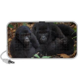 Mountain Gorillas, Volcanoes National Park Mini Speakers