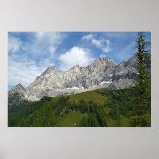 Mountain Grandeur Poster