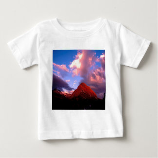 Mountain Grinnell Point Summer Glacier T Shirts